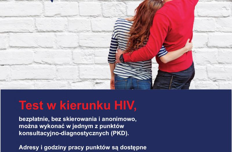 Plakat dot.  HIV